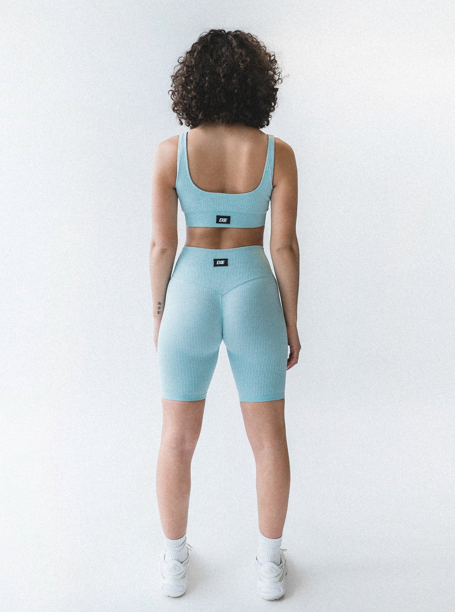 FLEX BIKE SHORTS - MINT