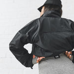 WORKOUT WINDBREAKER - BLACK