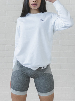 WARM-UP SWEATER - WHITE