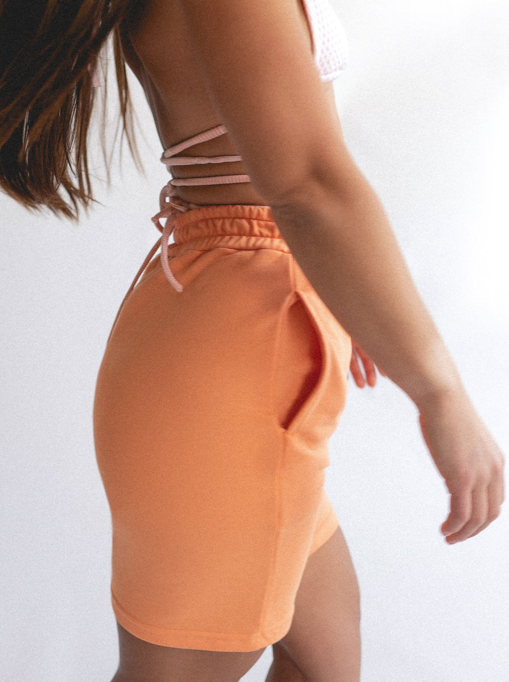 COOL DOWN SHORTS - ORANGE