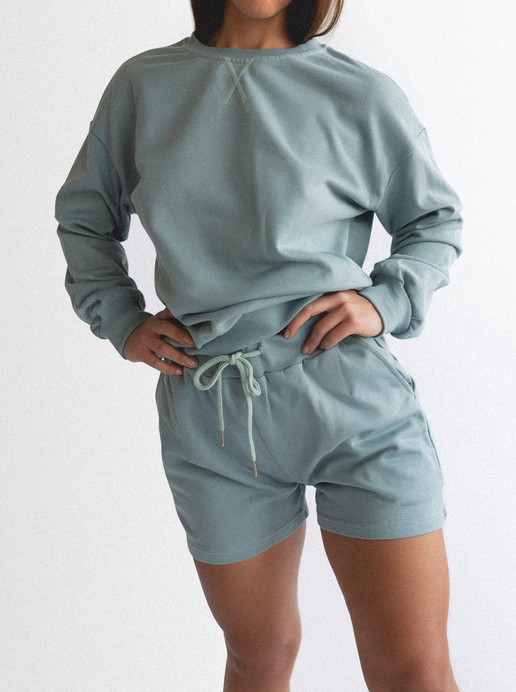 PIJAMA SWEATER - GREEN