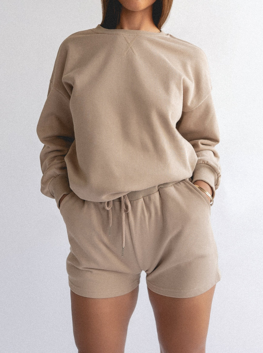 PIJAMA SWEATER - BEIGE