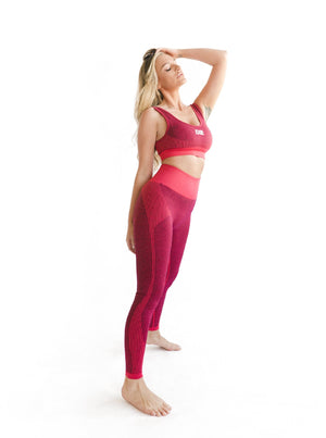 RUNNER LEGGING - RED