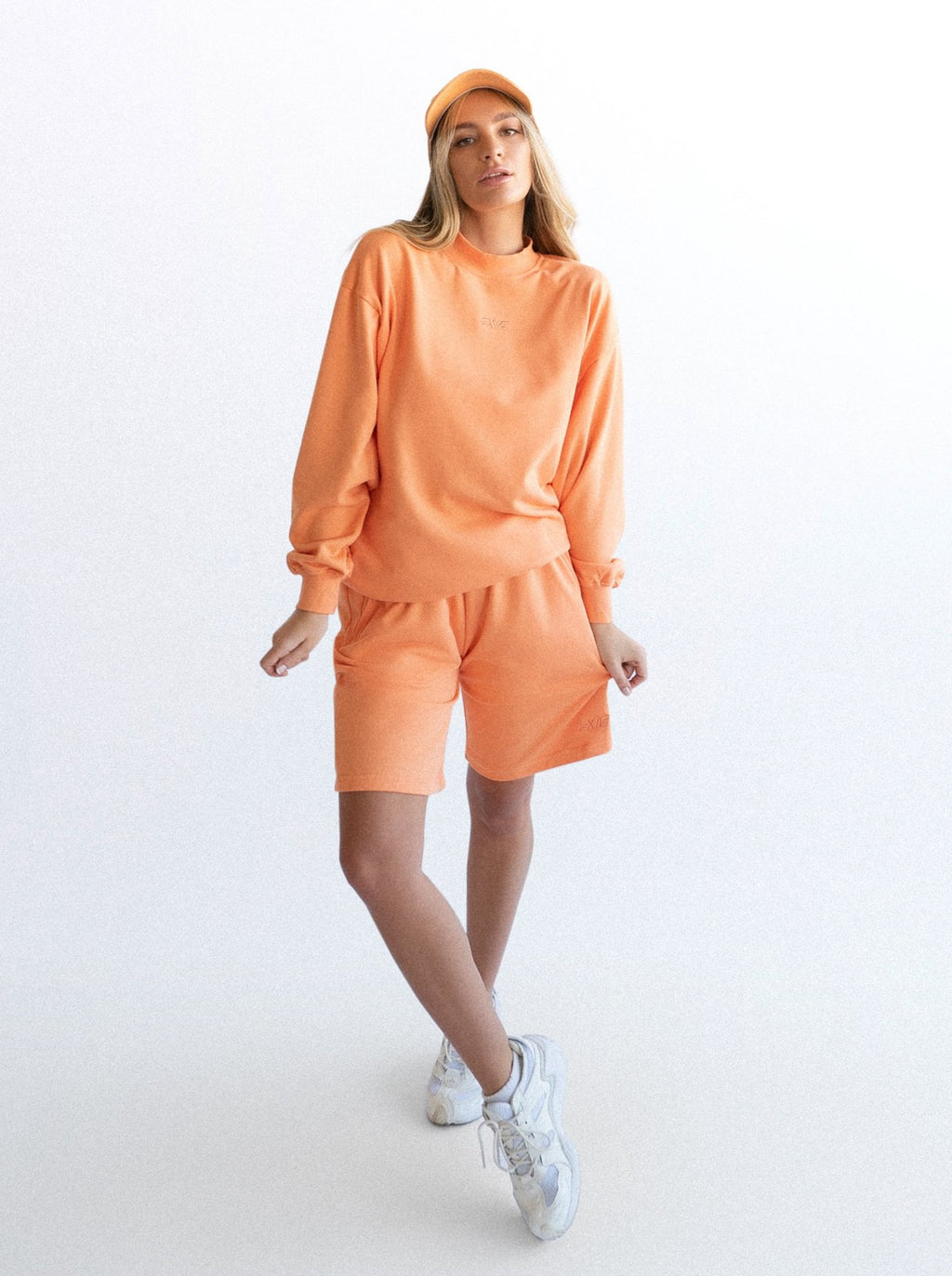LOUNGE SHORTS - ORANGE