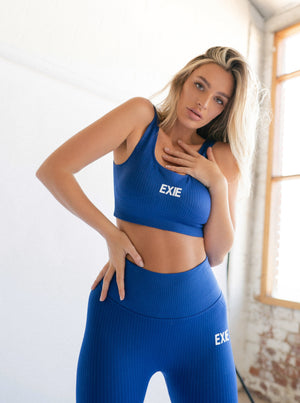 FLEX LEGGING - COBALT