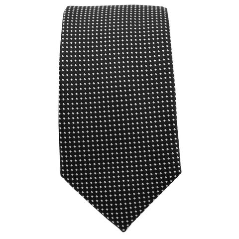 Black & White Checkered Tie