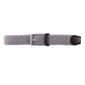 Solid Grey Elastic Belt