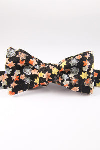 Petrina's Posies Licorice Self Tie Bow Tie