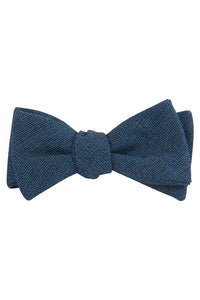 Blue Burhop Self Tie Bow Tie