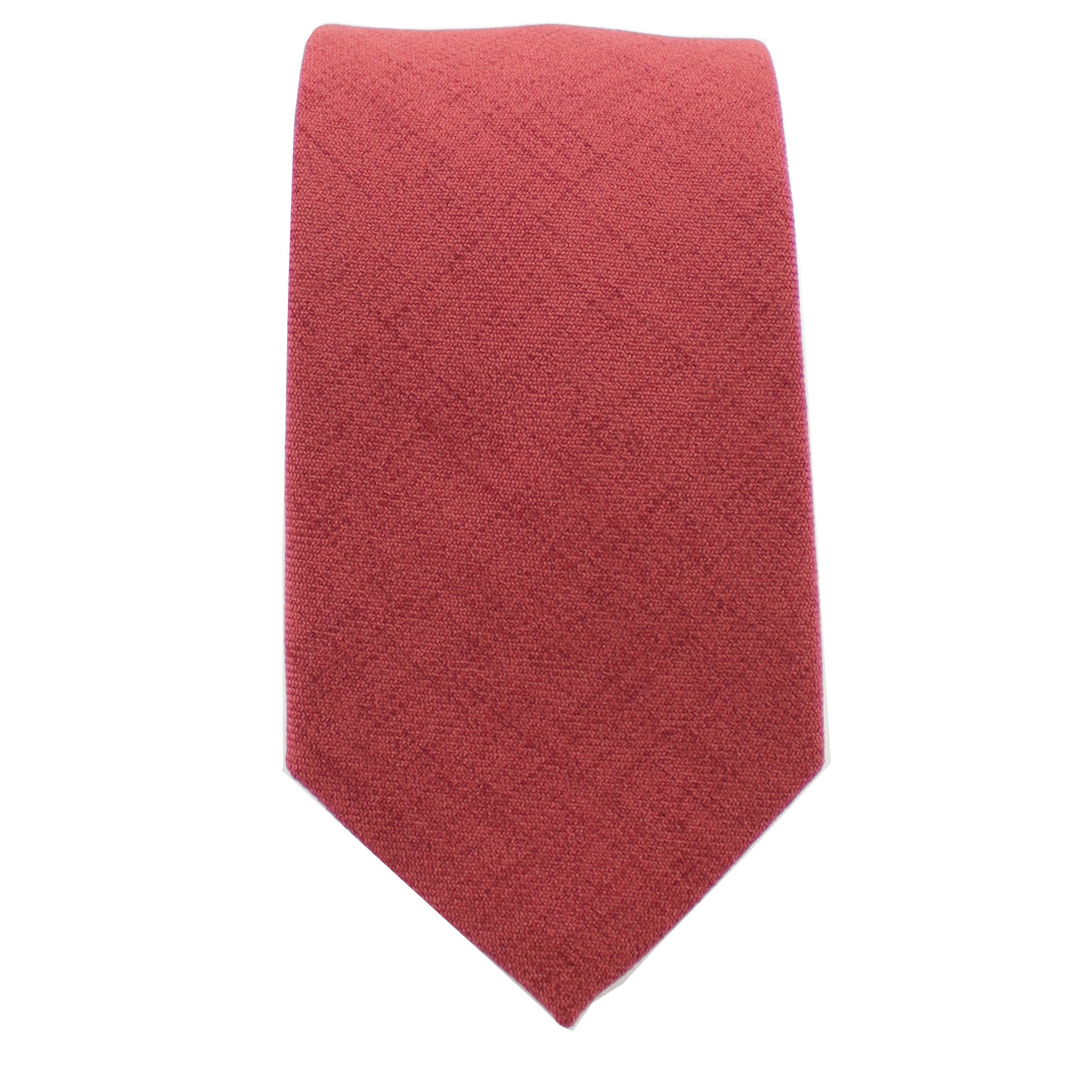 Cotton Burnt Orange Tie from DIBI