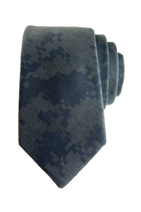 Dark Digital Camo Tie