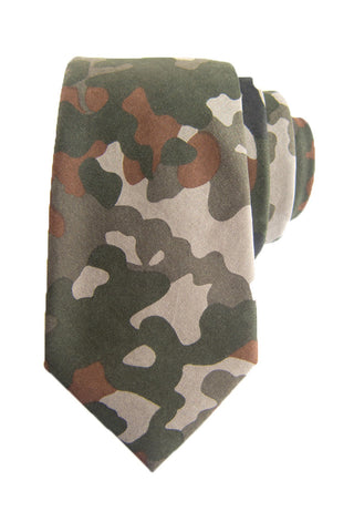 Forest Soft Camo Tie