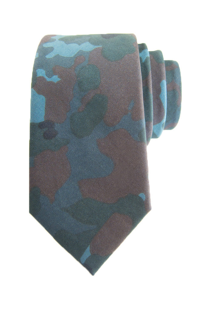 Midnight Soft Camo Tie