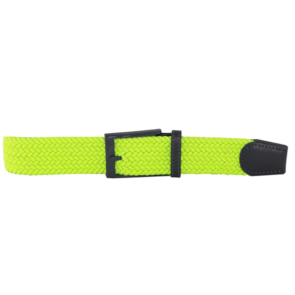 Neon Yellow Elastic Belt