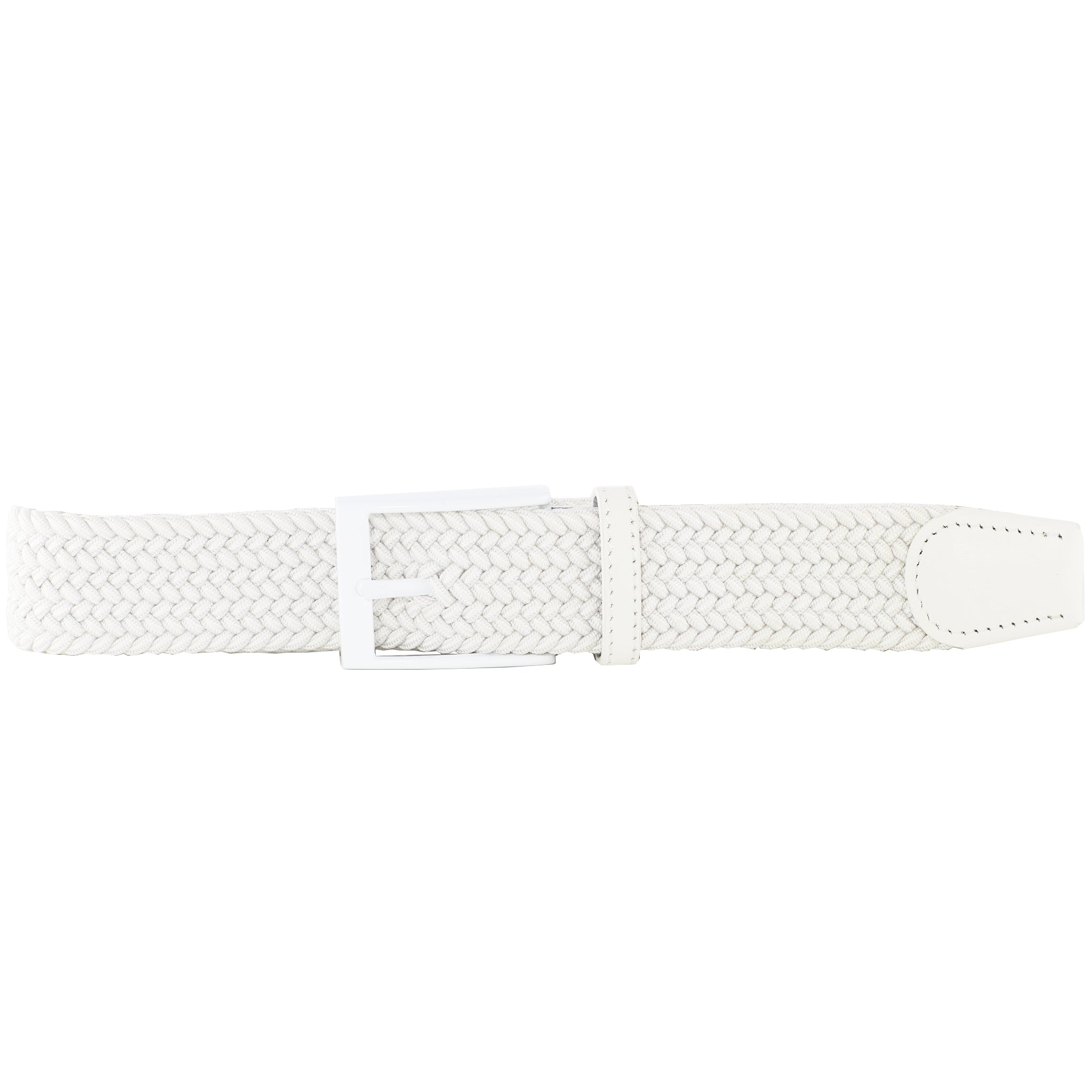 White Elastic Belt