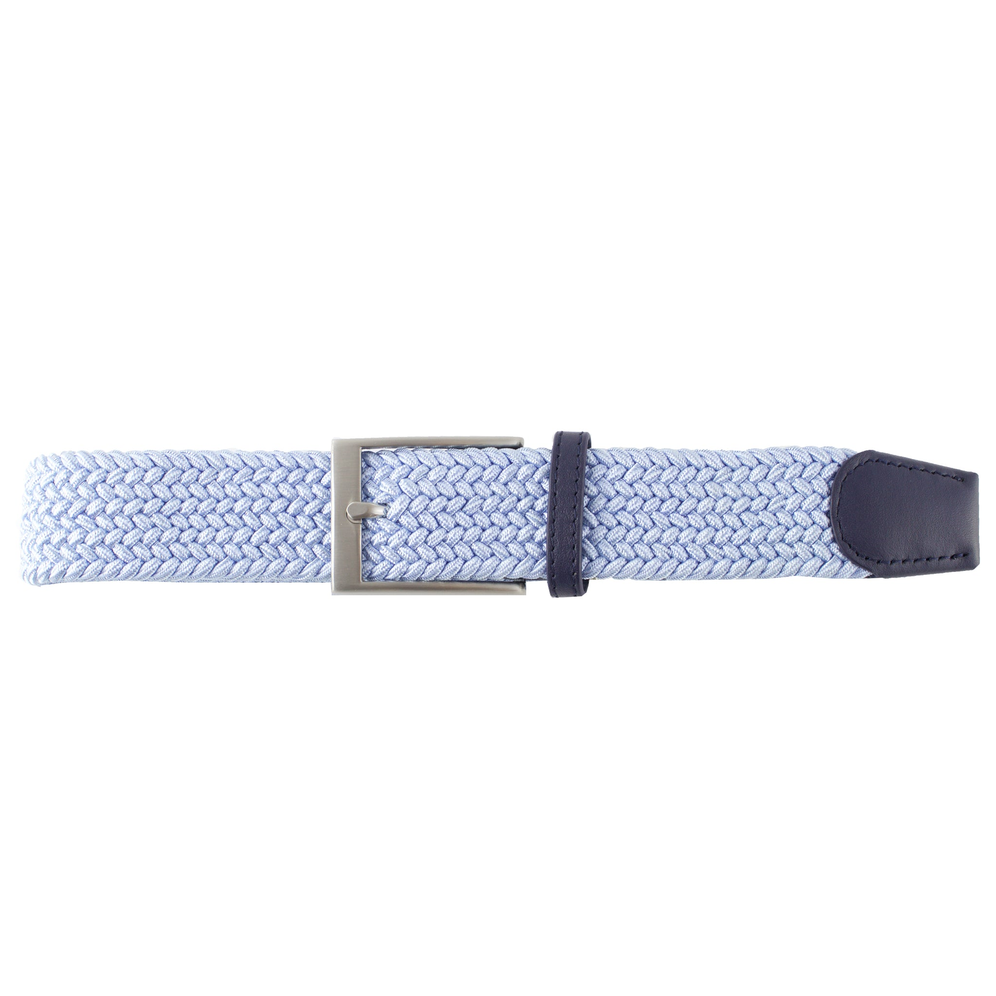 Sky Blue Elastic Belt