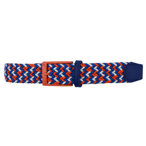 Orange, Blue, & White Elastic Belt