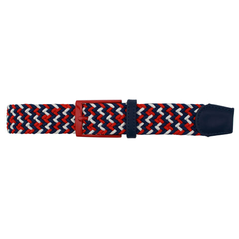 Red, White, & Blue Elastic Belt