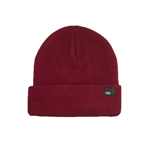 Fleece Lined Burgundy Beanie