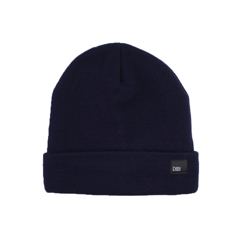 Fleece Lined Dark Navy Beanie from DIBI