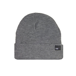 Fleece Lined Grey Beanie