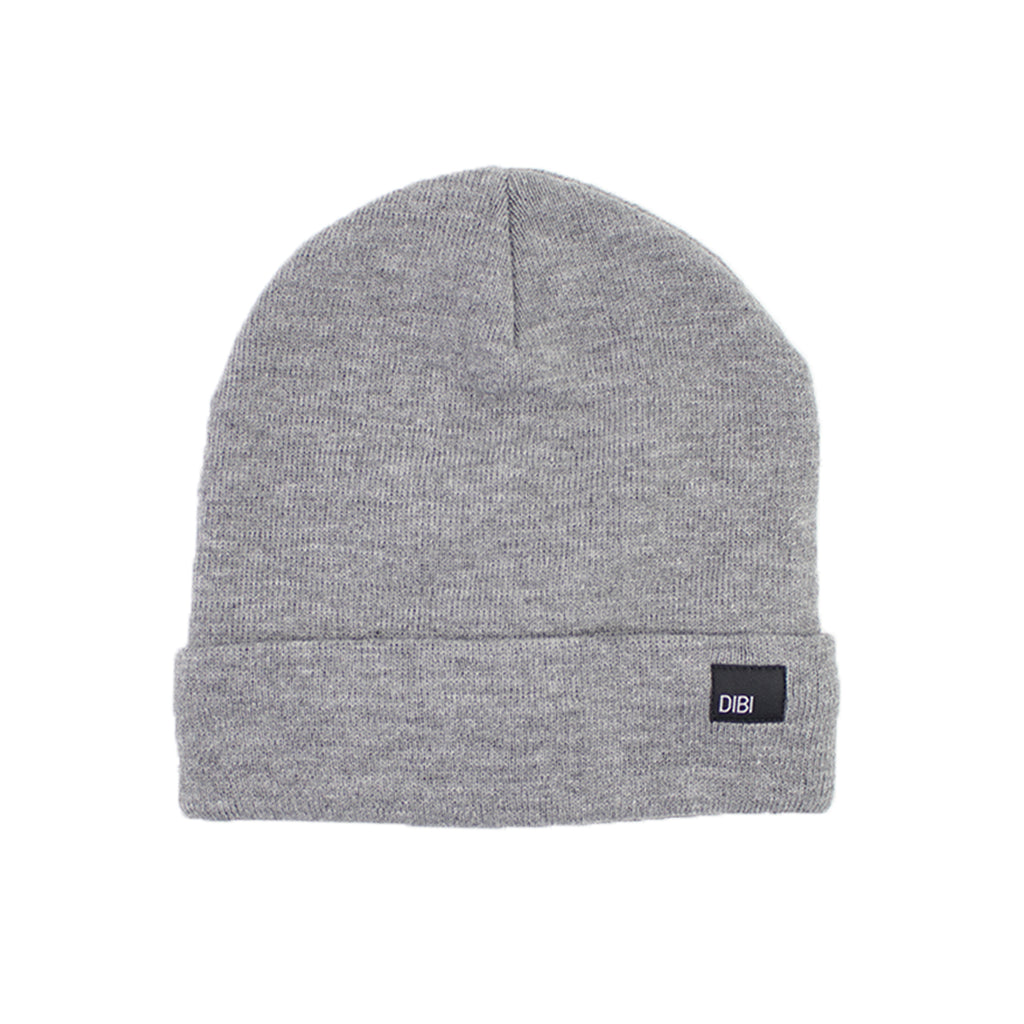 Fleece Lined Light Grey Beanie