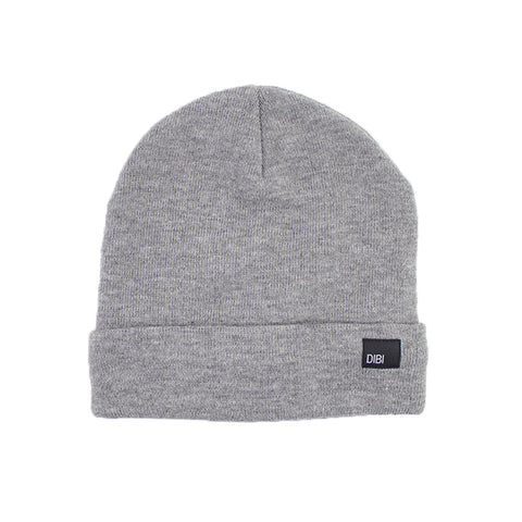 Fleece Lined Light Grey Beanie from DIBI