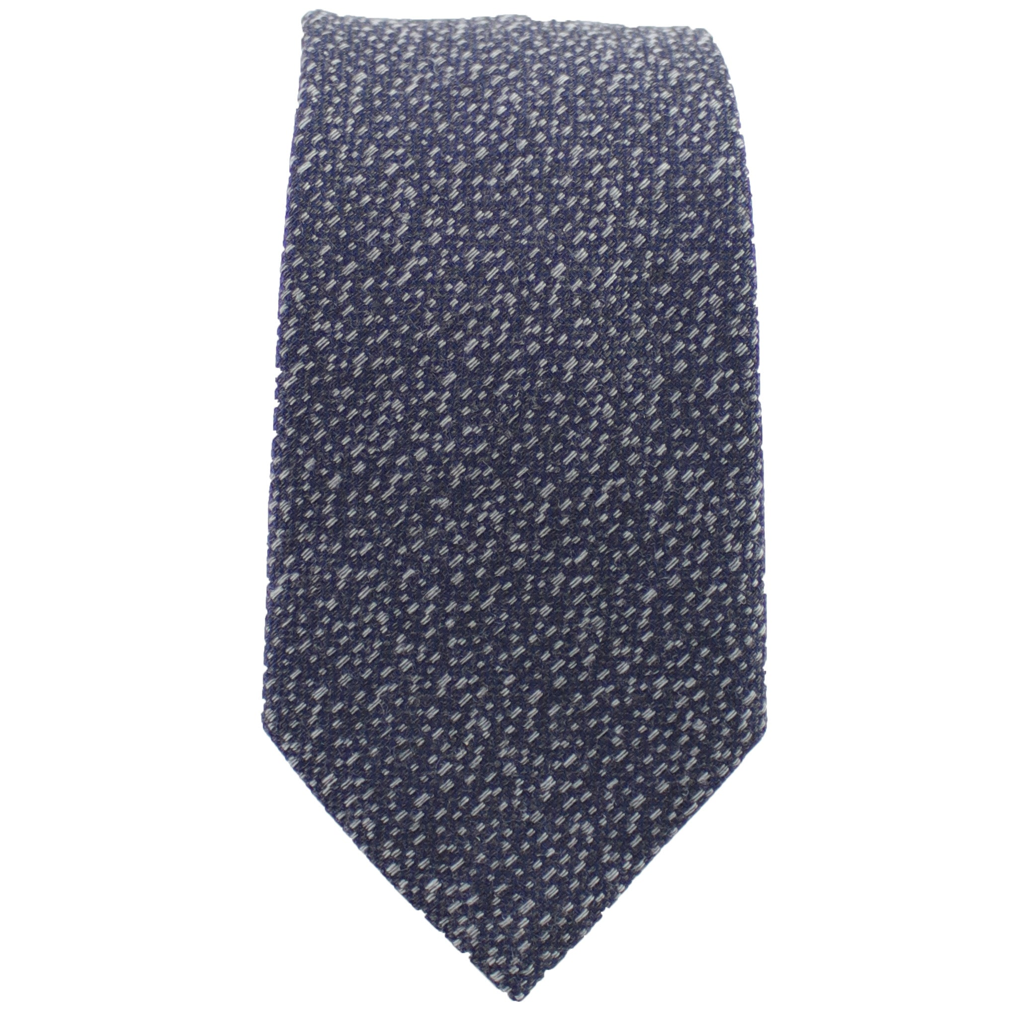 Charcoal & Silver Heather Tie from DIBI