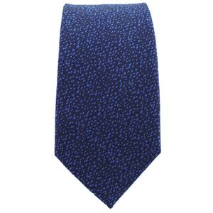Navy & Sky Blue Heather Tie from DIBI