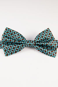 Tilted Ovals Pre-Tied Bow Tie