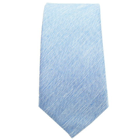 Light Blue Linen Tie