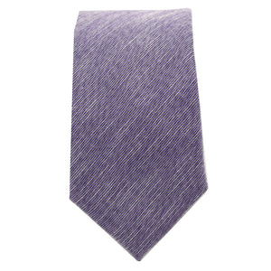 Purple & Black Linen Tie