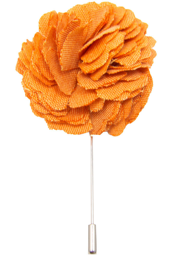 Muted Orange Lapel Pin