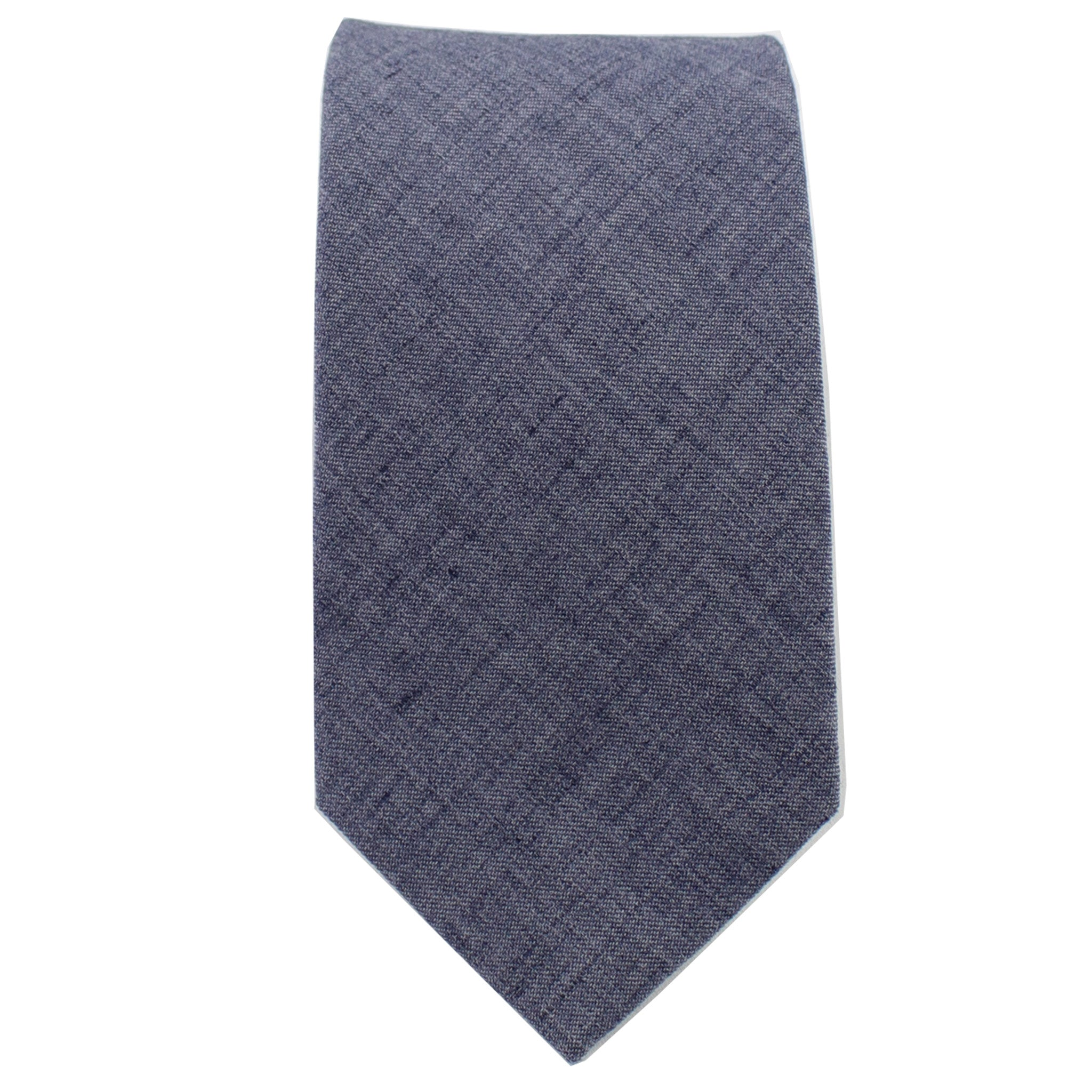 Lightweight Navy Tie from DIBI