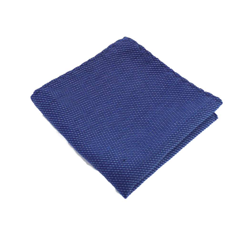 Atmospheric Blue Pocket Square from DIBI