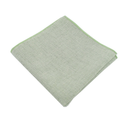 Burlap Sage Pocket Square from DIBI