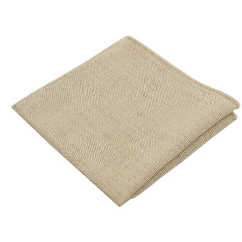 Burlap Sand Pocket Square