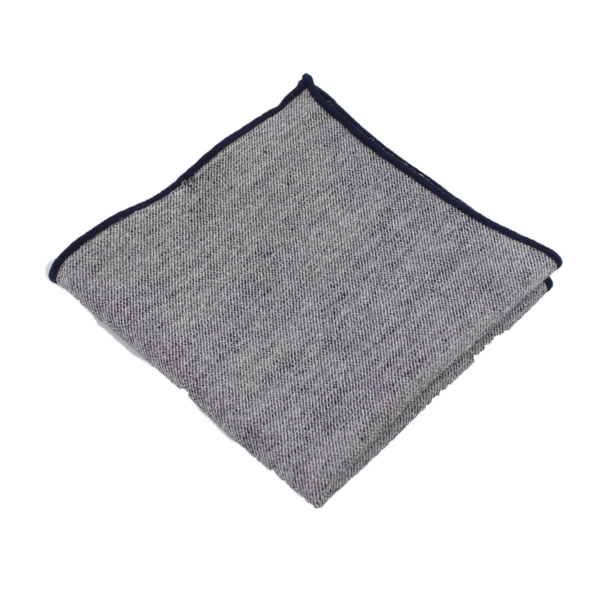 Black Cloud Pocket Square from DIBI