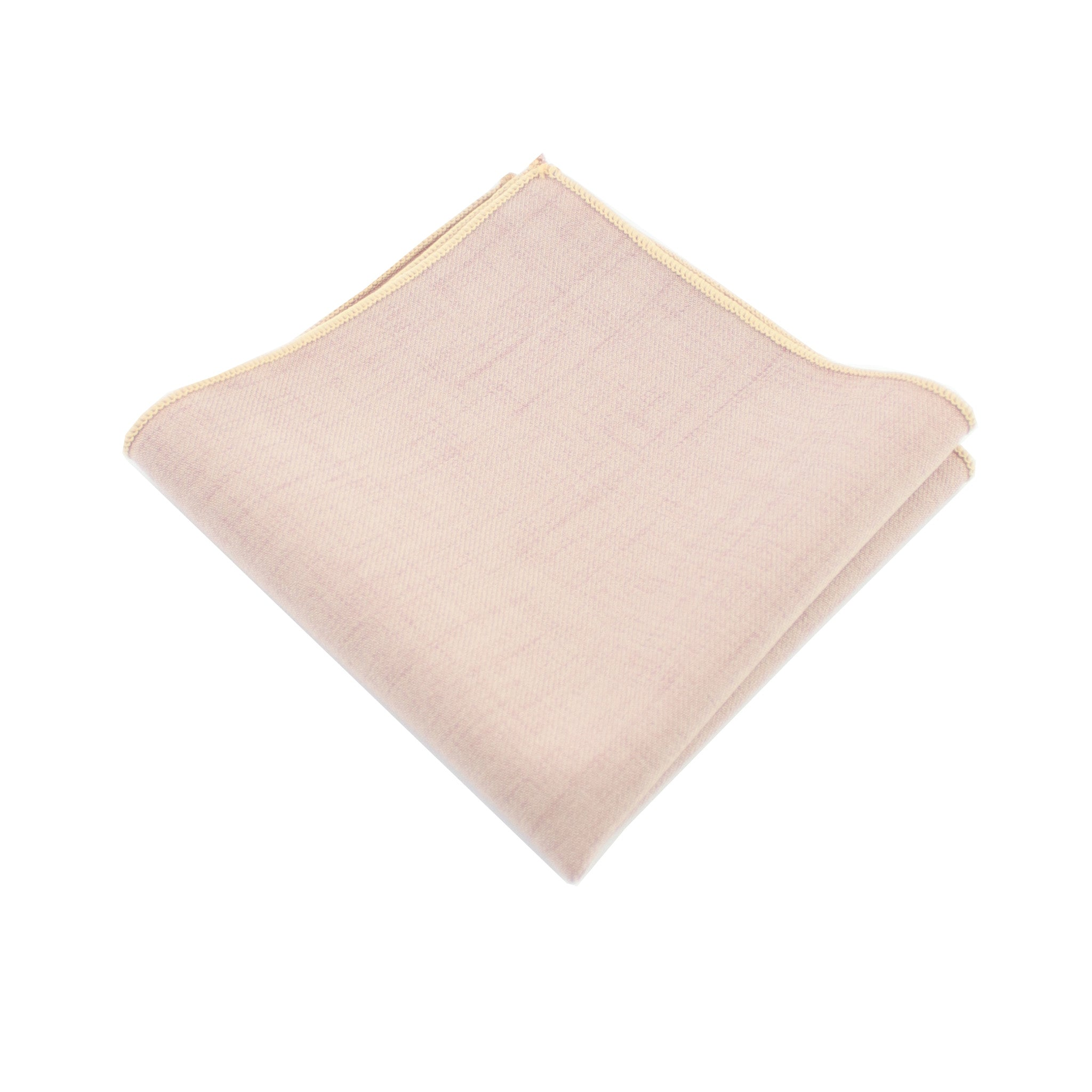 Cotton Mauve Pocket Square from DIBI