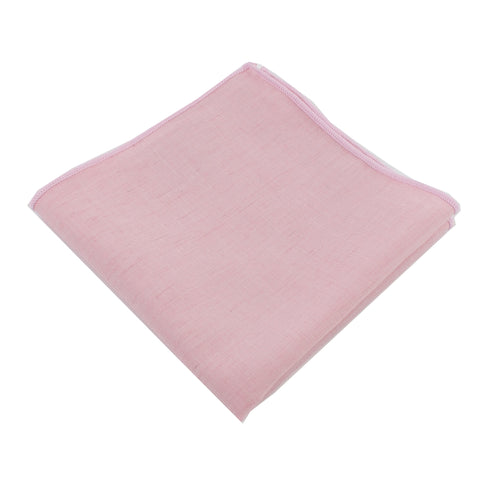 Lightweight Blush Pocket Square from DIBI