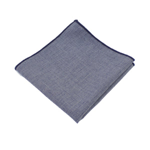 Lightweight Navy Pocket Square from DIBI