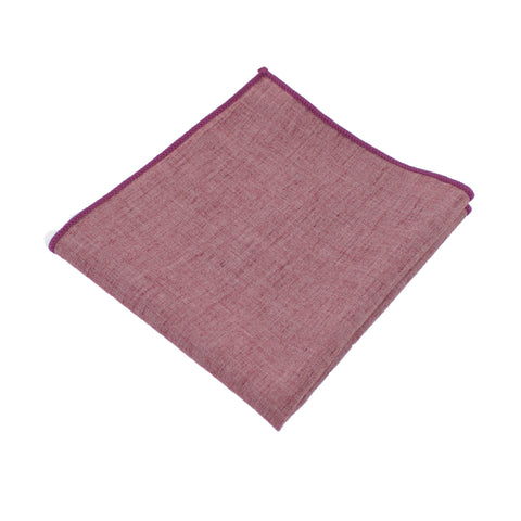 Lightweight Red Pocket Square