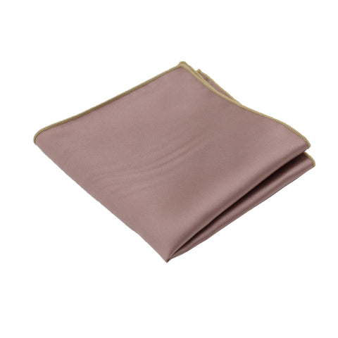 Mauve Satin Pocket Square