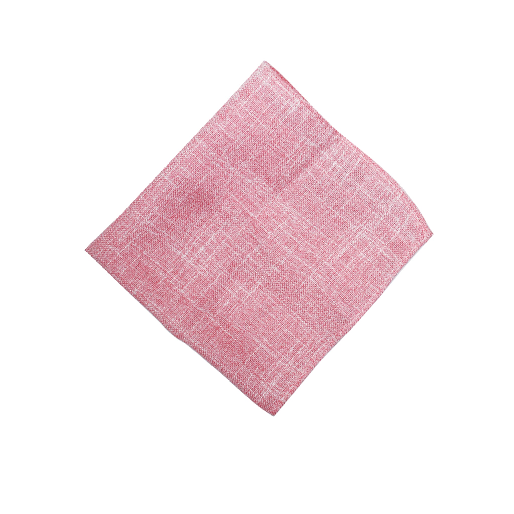 Heather Blush Pocket Square