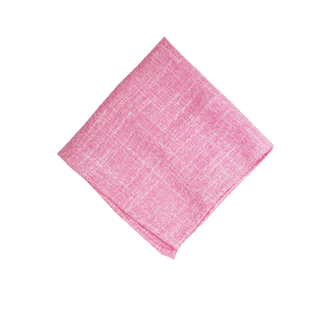 Heather Pink Pocket Square