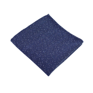 Navy Speck Pocket Square from DIBI