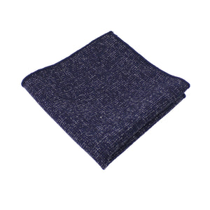 Navy Twill Pocket Square from DIBI