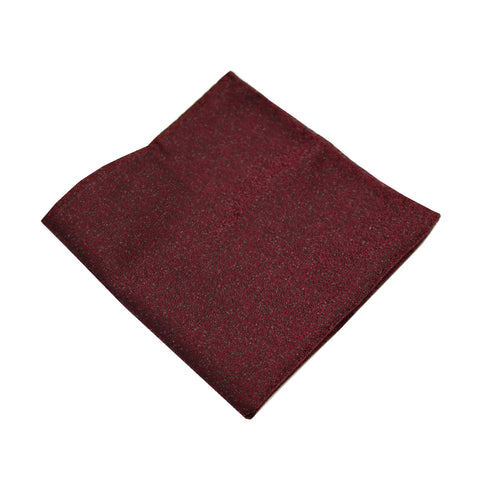 Wine Textured Pocket Square