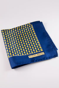 Golden Pear Pocket Square