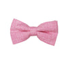 Heather Pink Pre Tie Bow Tie & Pocket Square Set